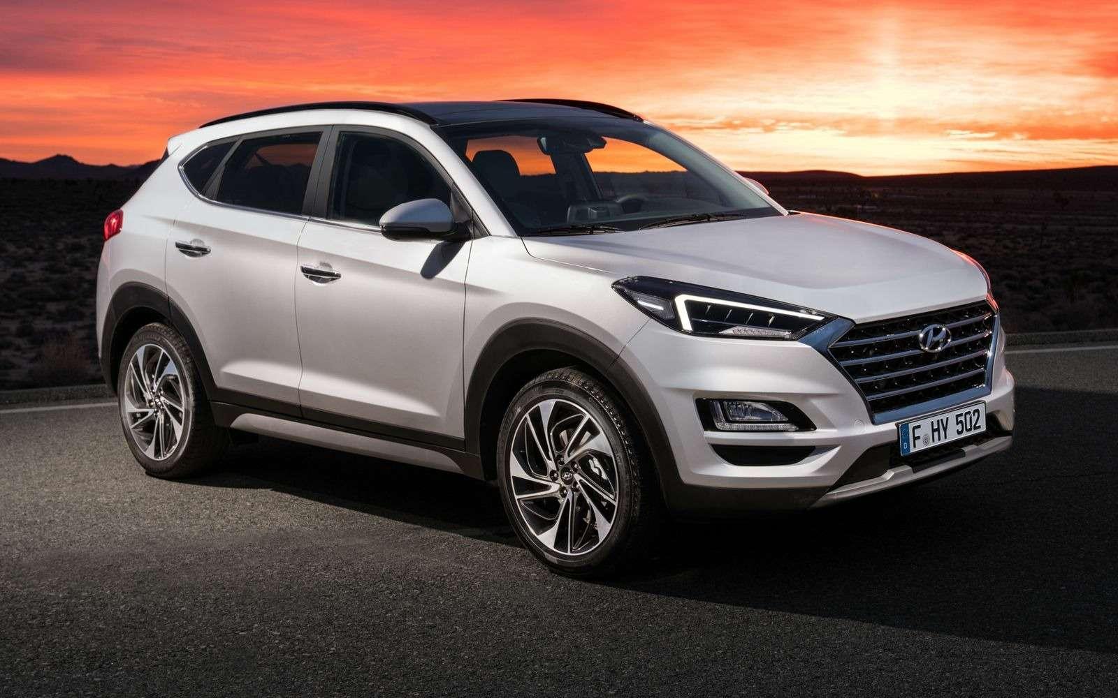Hyundai Tucson пережил обновление. Итам сплошная «косметика»— фото 857929