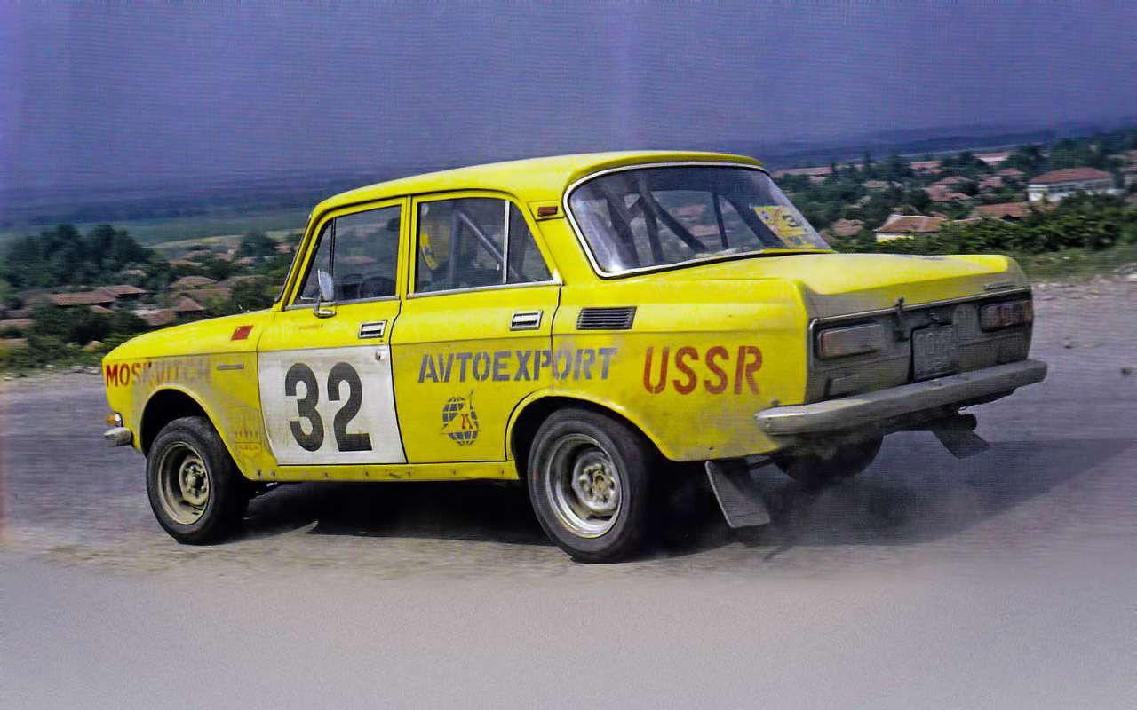 Машины нашего детства— ретротест Москвича-2140— фото 811244