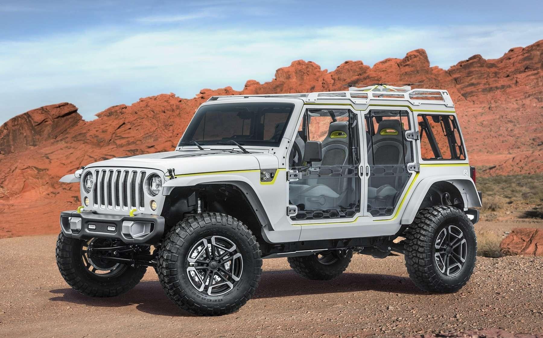 Онвернулся: Jeep представил… Grand Cherokee первого поколения— фото 729906