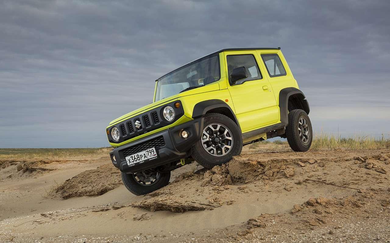 Новый Suzuki Jimny: еще меньше, еще теснее!— фото 1002752