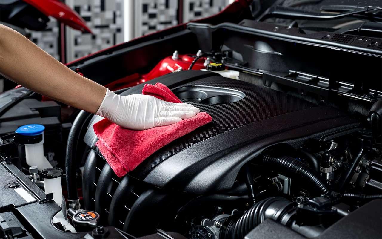 Когда надо мыть двигатель, акогда— вредно! Советы эксперта— фото 857345