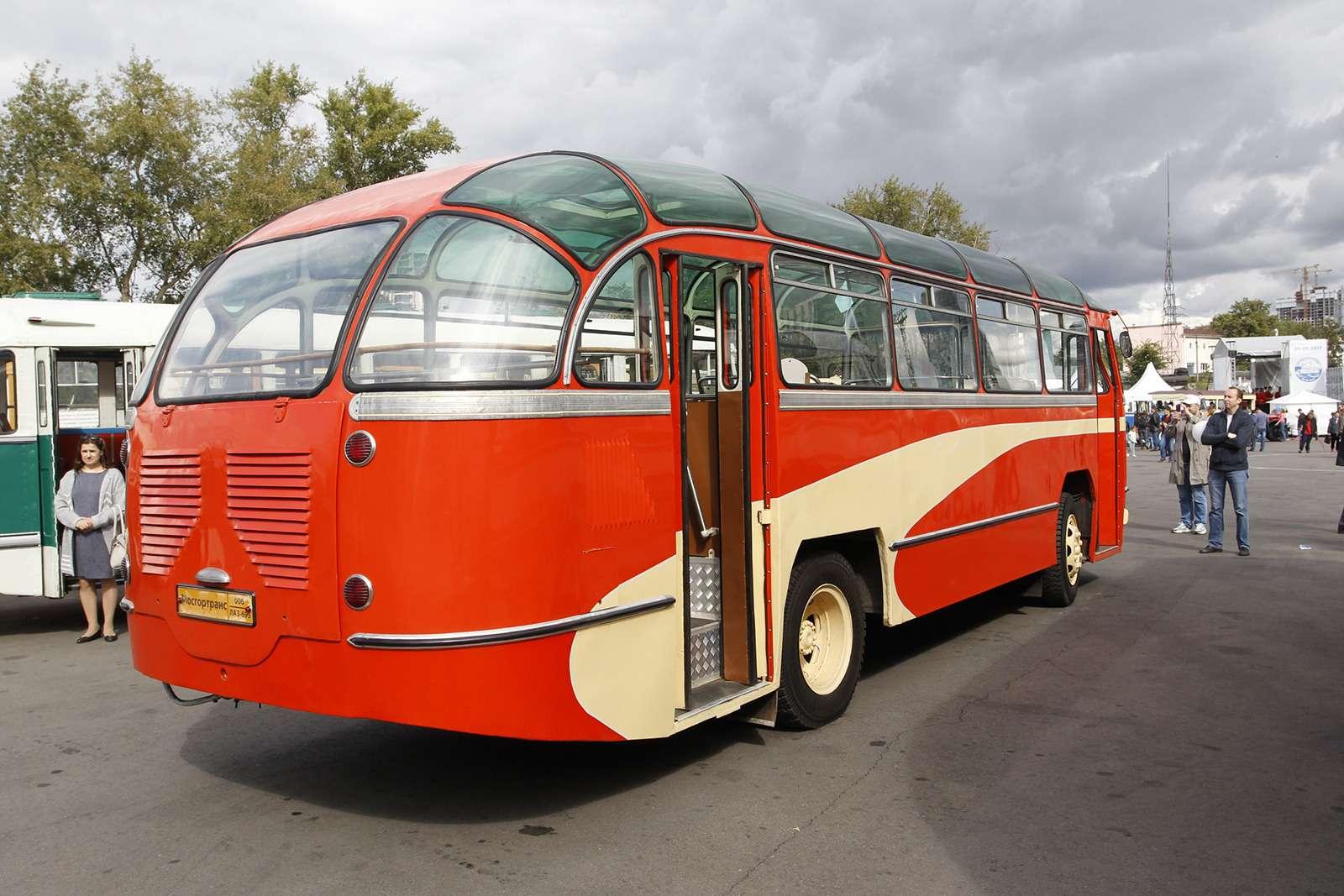 Автобусы нашего детства— выставка пассажирского транспорта— фото 792683
