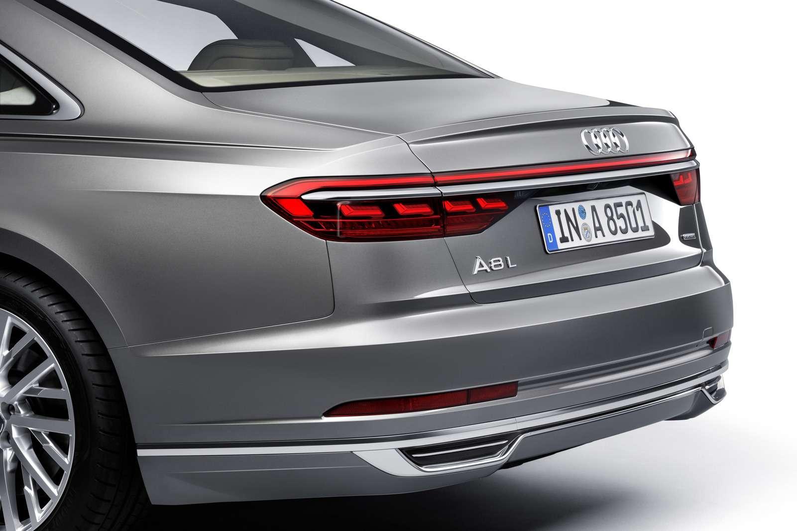 Технорывок Audi— премьера А8— фото 773529