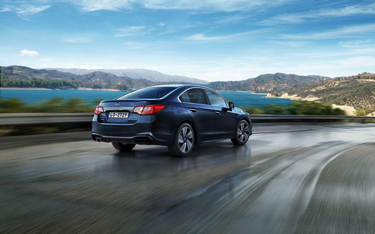 Subaru начала продажи обновленного Legacy— фото 958515