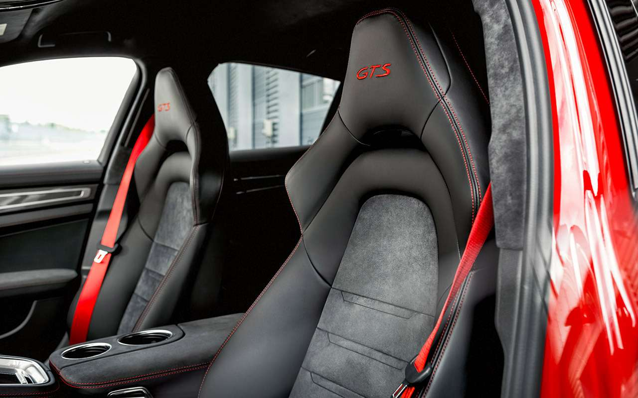 Porsche Panamera GTS— тест-драйв с«раллийным богом» Вальтером Рёрлем— фото 931770