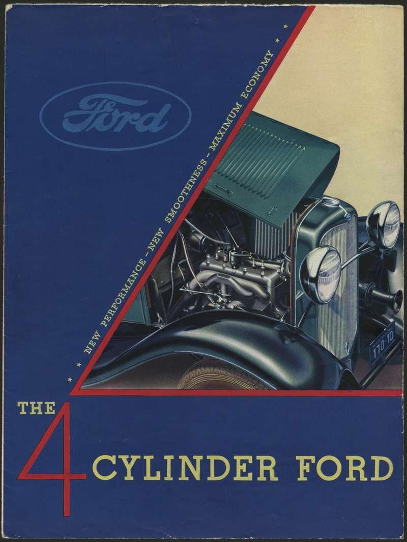 Несмотря наактивную рекламу, четырехцилиндровая Model Bпродавалась много хуже восьмицилиндровой Model 18. Так, машин скузовом родстер было выпущено 15115, причем 9268 штук— смотором V8. Фото: www.thehenryford.org