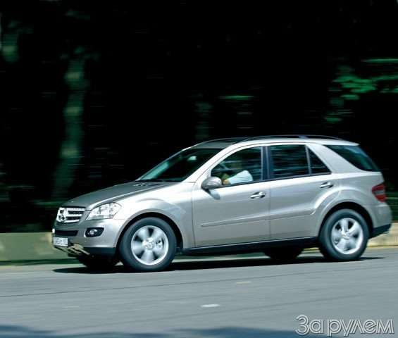 Mercedes-Benz ML. Прерванный разговор— фото 59069
