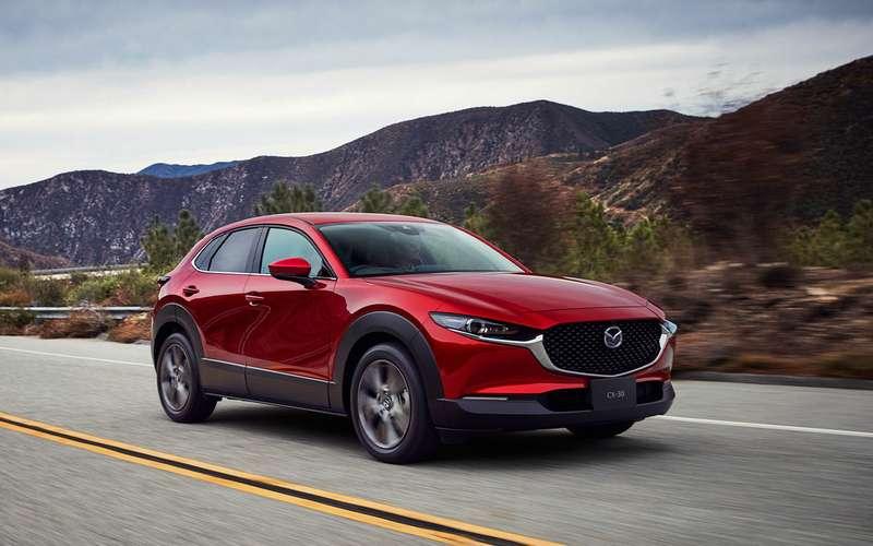 Mazda везет вРоссию новый кроссовер