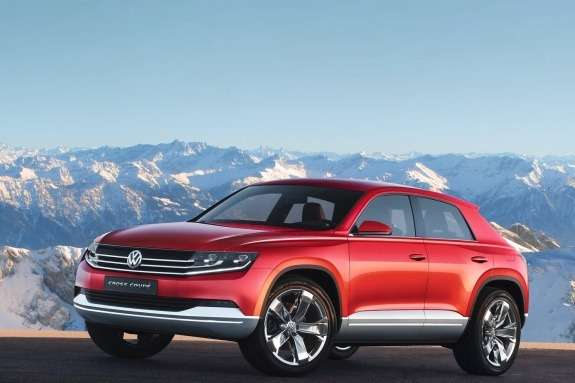 Volkswagen Cross Coupe TDI Concept side-front view