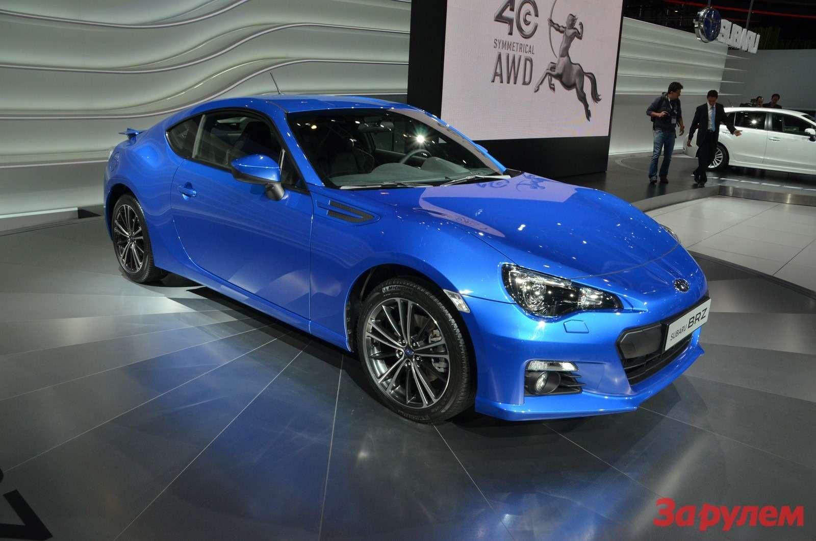 Купе Subaru BRZ STI