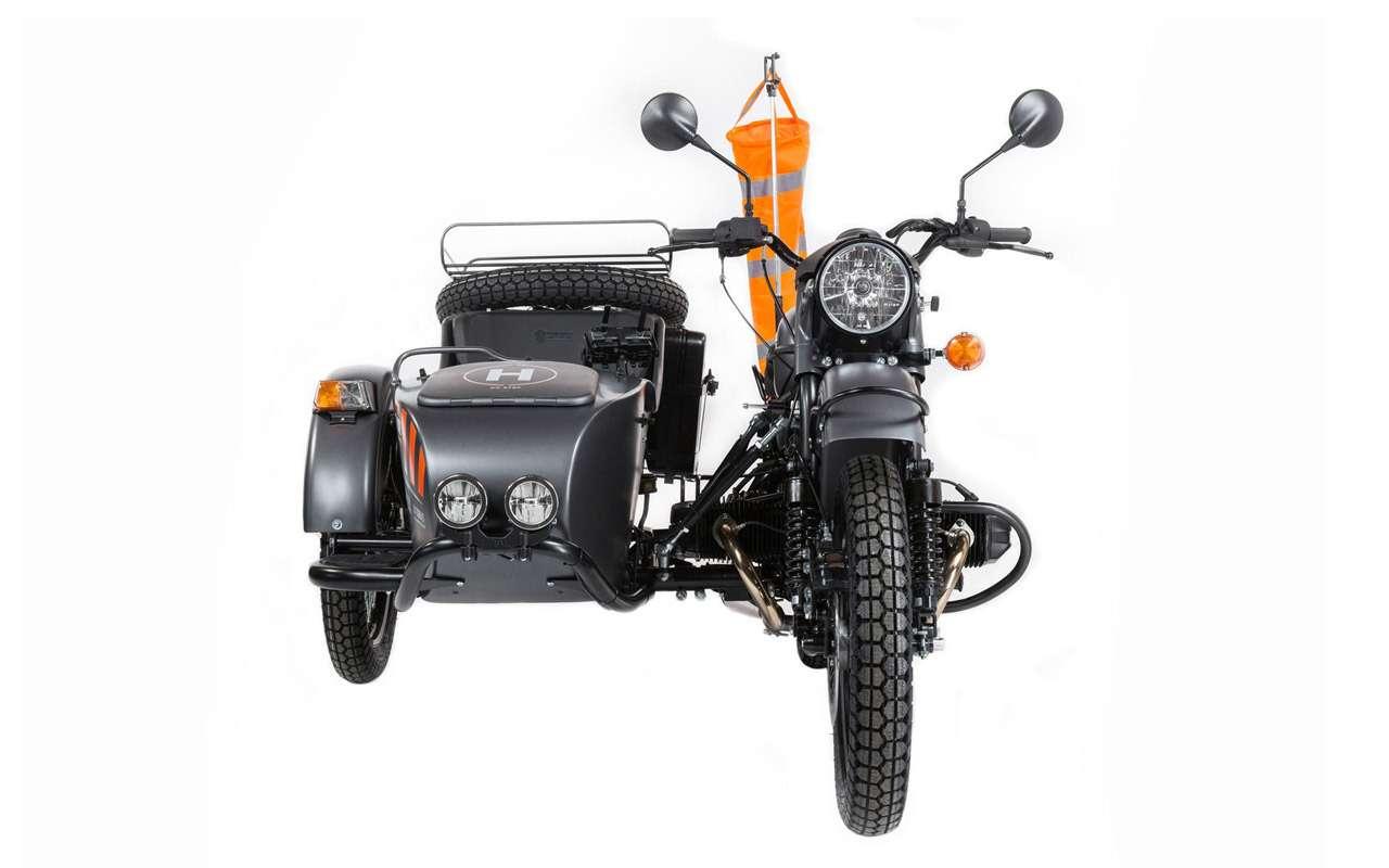 Урал Air: первый мотоцикл сдроном— фото 916709