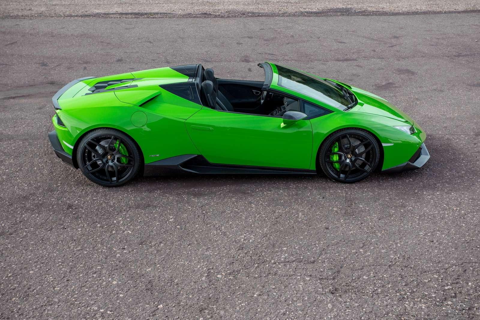 С двумя компрессорами: Lamborghini Huracan метит вгиперкары— фото 615770