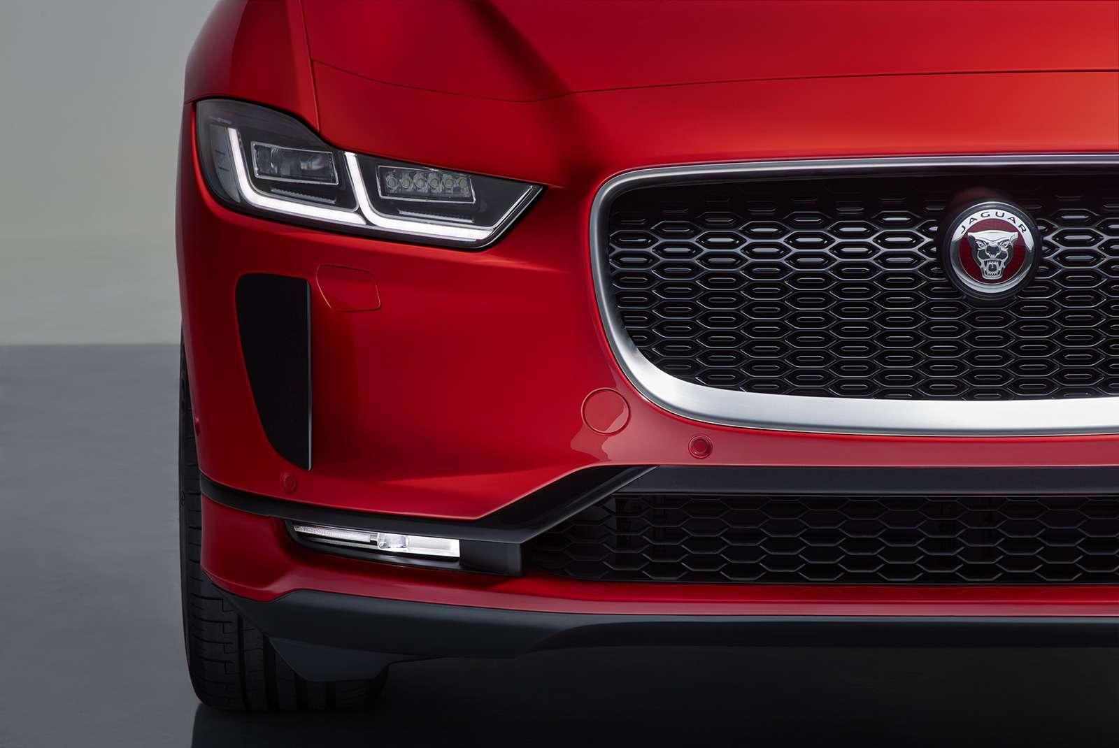 Jaguar I-Pace: первая электрическая «кошка». Ждем вРоссии!— фото 849699