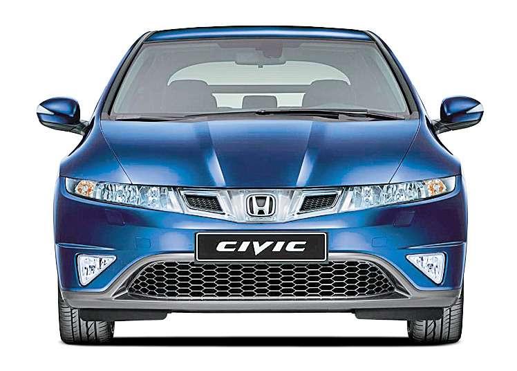 Honda Civic Рестайлинг