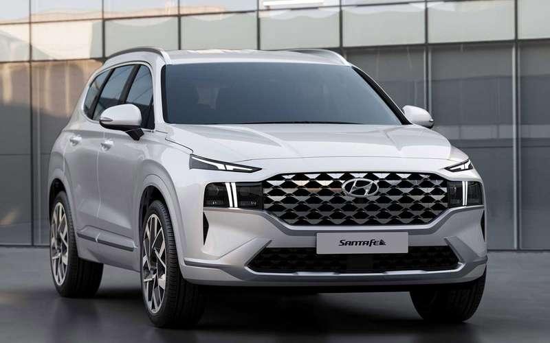 Обновленный Hyundai Santa Feпересел нановую платформу