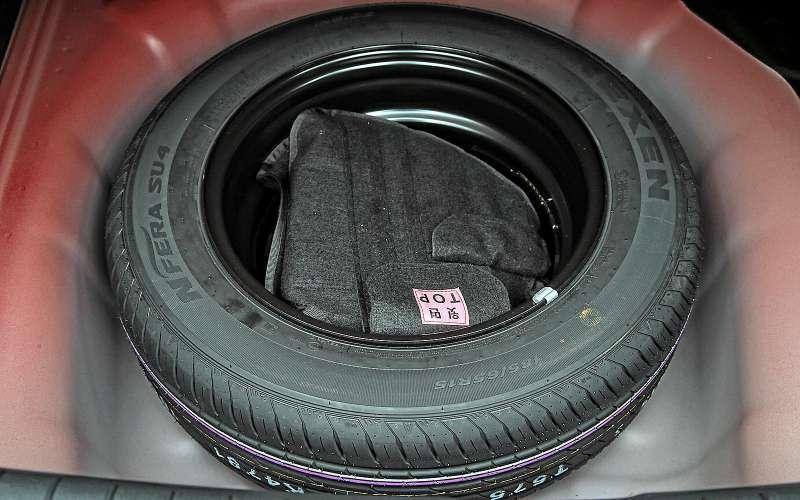 Запасное колесо Hyundai Solaris 2017