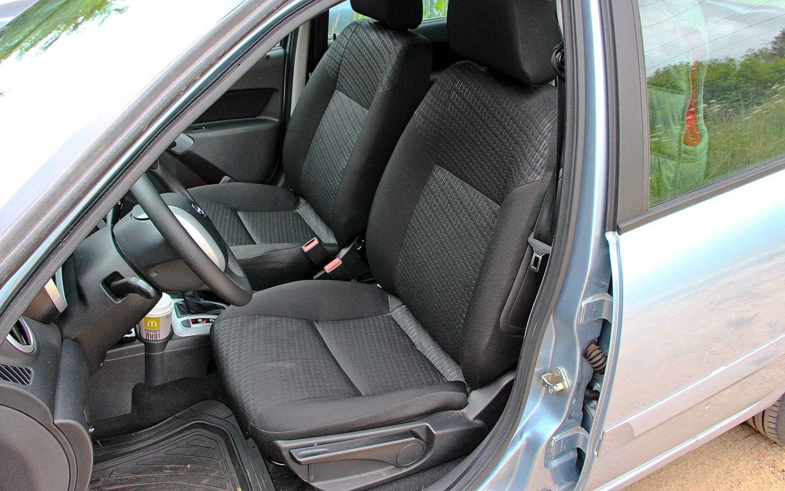 Datsun mi-DO: сравниваем двухлетний хэтчбек сновым— фото 776823