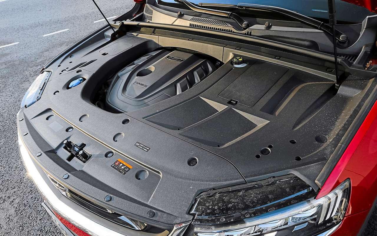 Апогей шведской мысли: тест китайского кросс-купе Tugella— фото 1207402