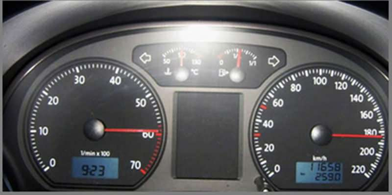 Спидометр 184 км/ч