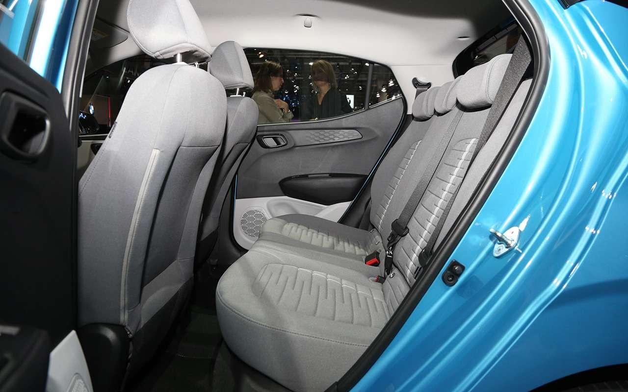 Hyundai i10 нового поколения: «мимими» вам вленту!— фото 995292