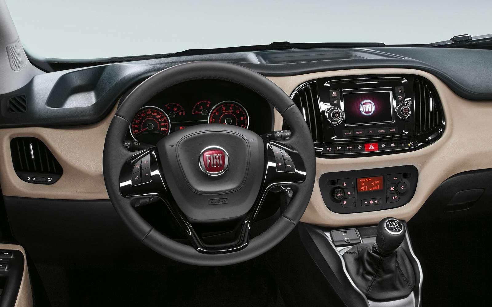 Fiat привез вРоссию конкурента Renault Dokker— фото 843302