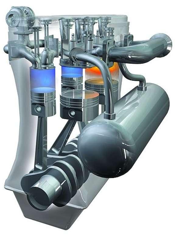 Scuderi twin-cycle Miller gasoline engine 3