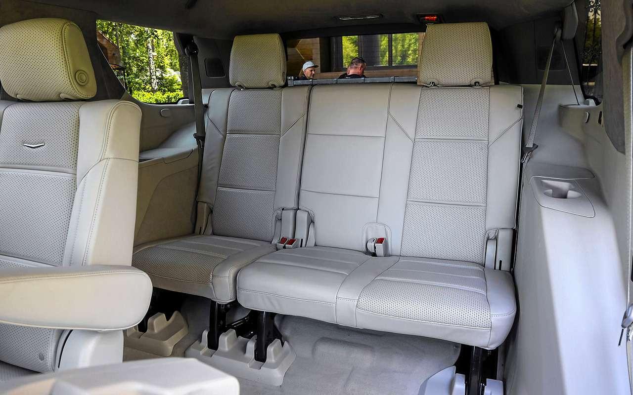 Новый Cadillac Escalade: 3дисплея, 36динамиков, 416«лошадей»— фото 1268630