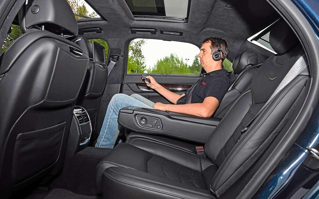 Большой тест престижных седанов: новый Lexus LS500и конкуренты— фото 928745