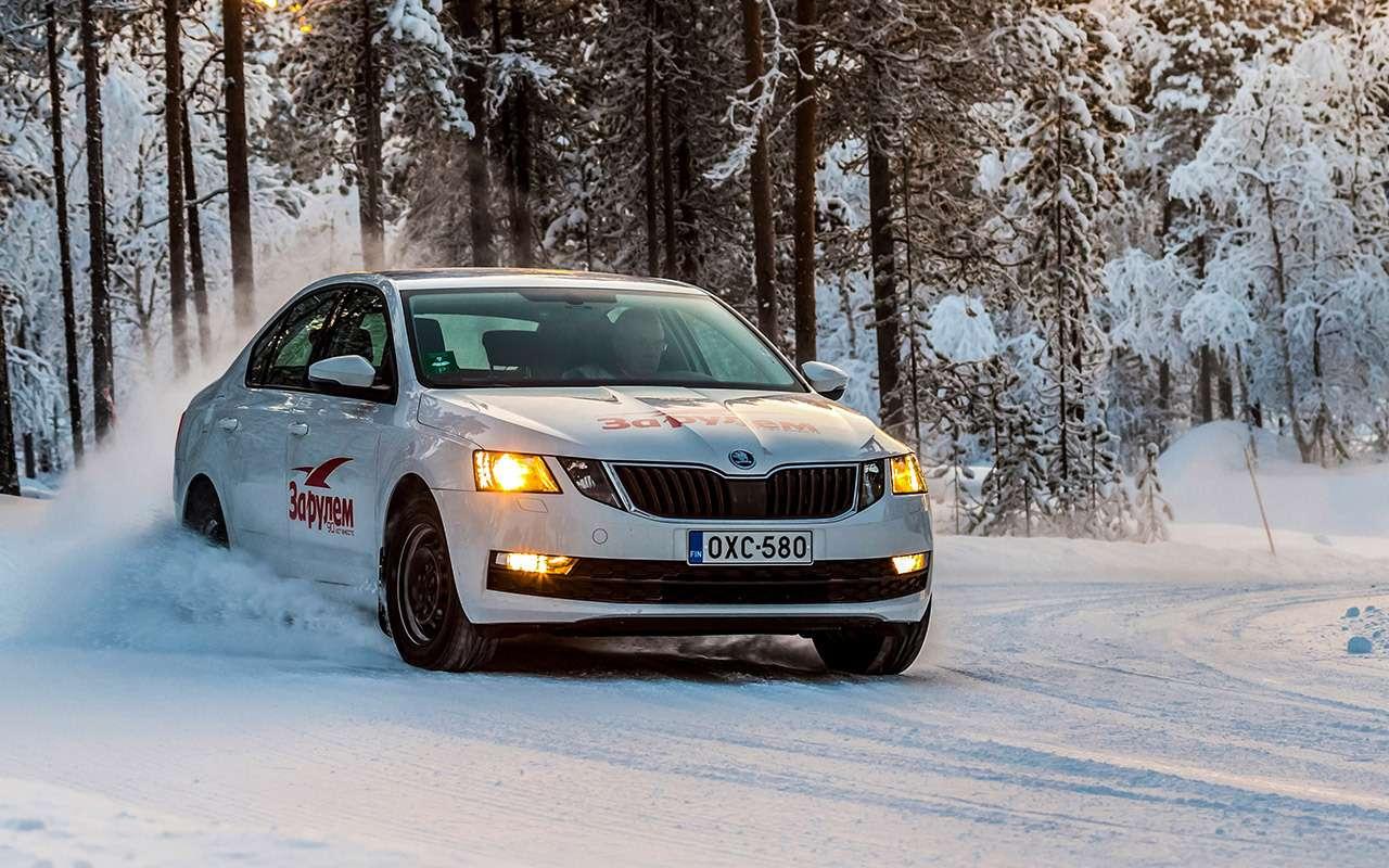 Большой тест зимних шин: выбор «Зарулем»!— фото 995074