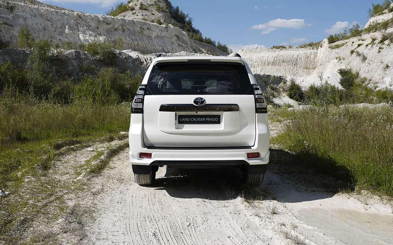 Обновленный Land Cruiser Prado: от2,6 млн.— фото 1166163