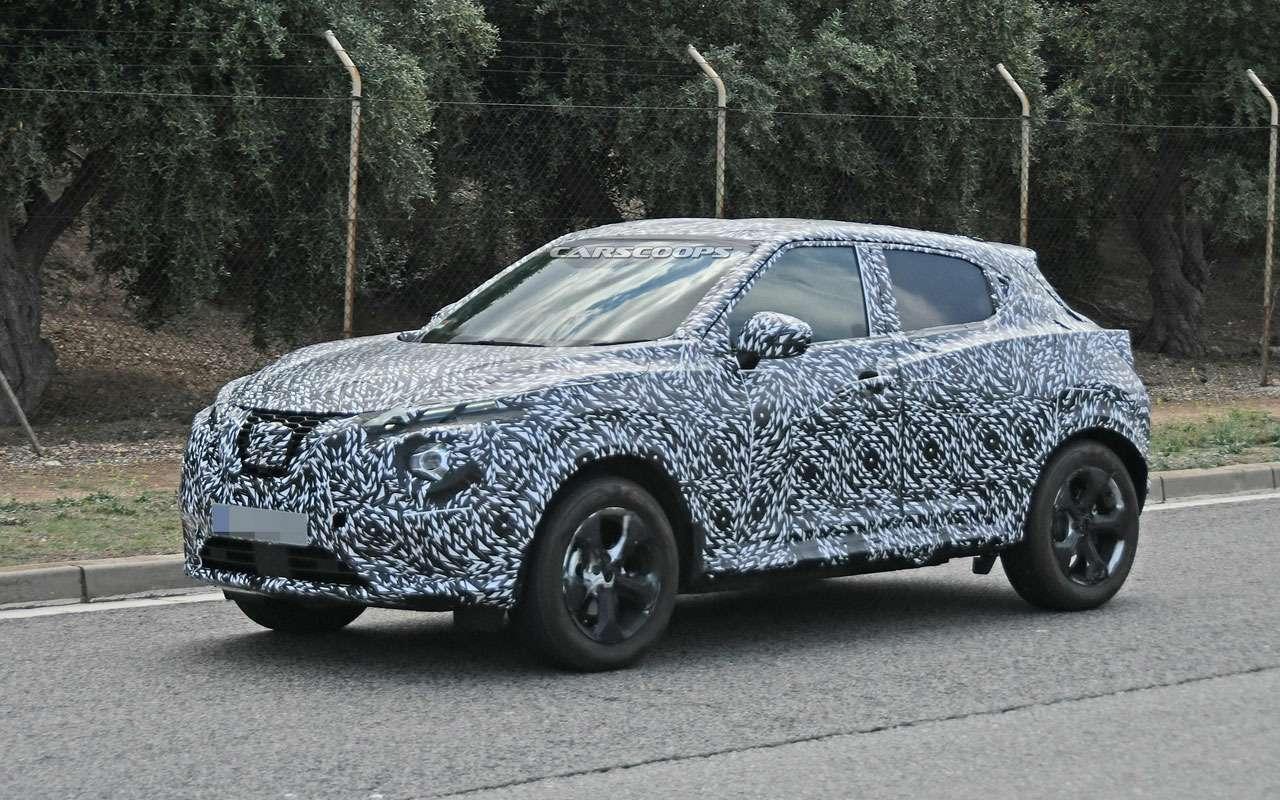 Новый Nissan Juke станет просторнее— фото 980127