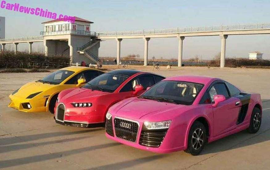 Китайская копия Bugatti Chiron. Всего 5000 баксов, нос3,35-сильным мотором— фото 870426