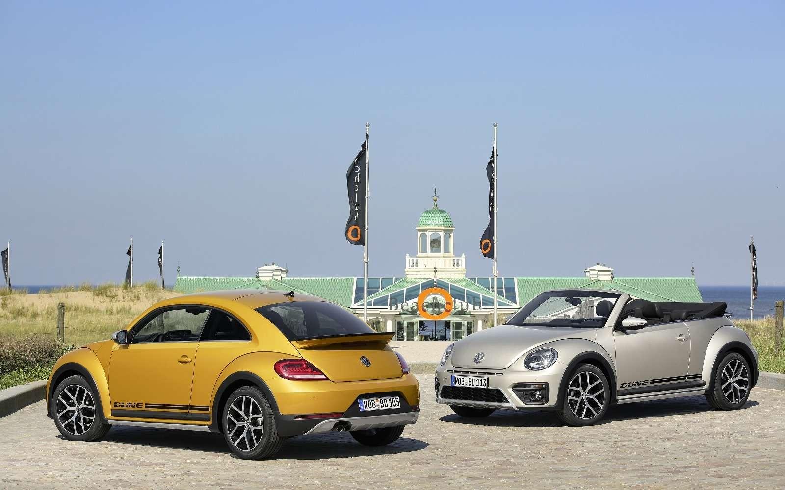 Volkswagen Beetle принарядили впоследнюю гастроль— фото 593061