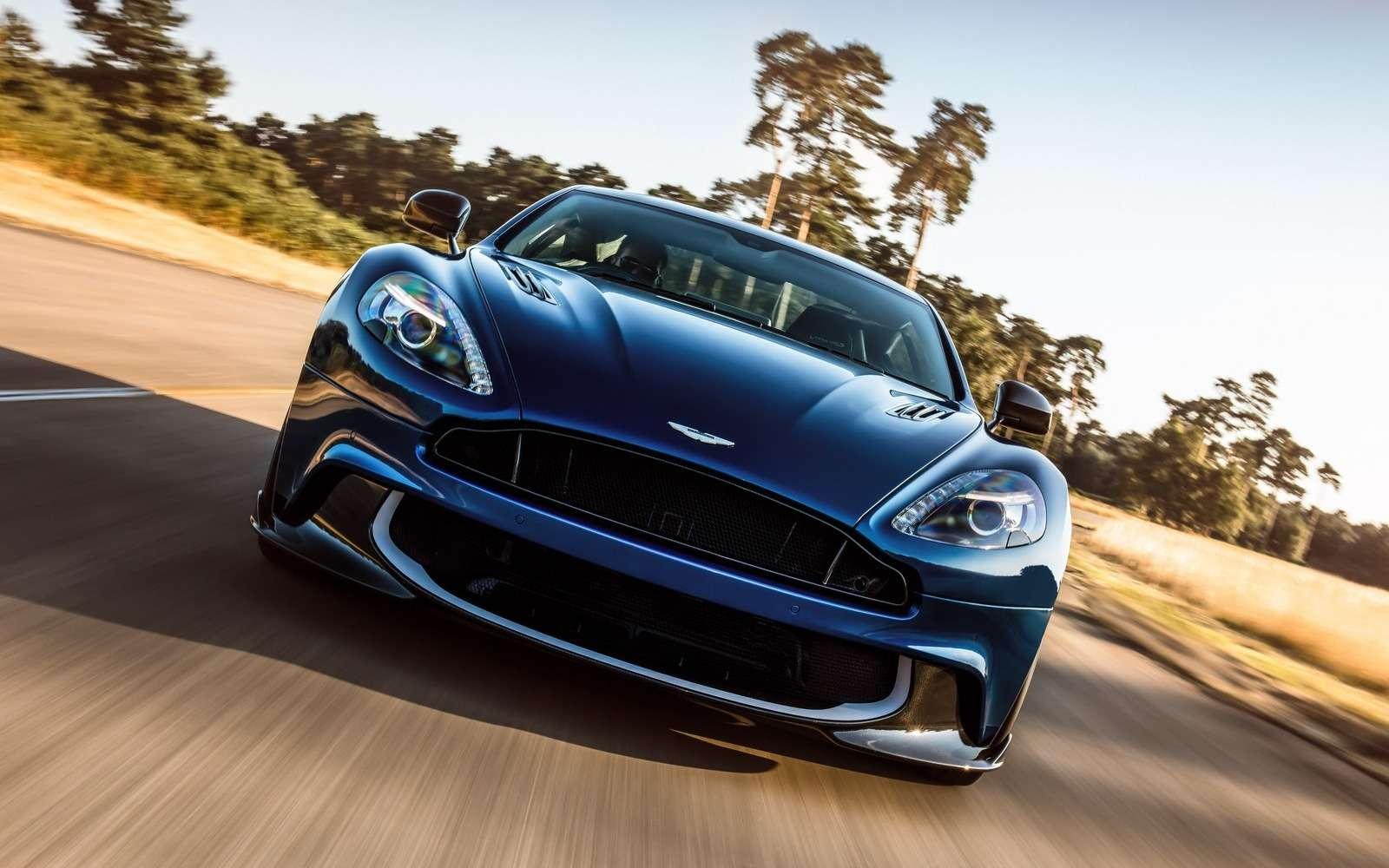 С прочищенной глоткой: Aston Martin представил новый Vanquish S— фото 664682