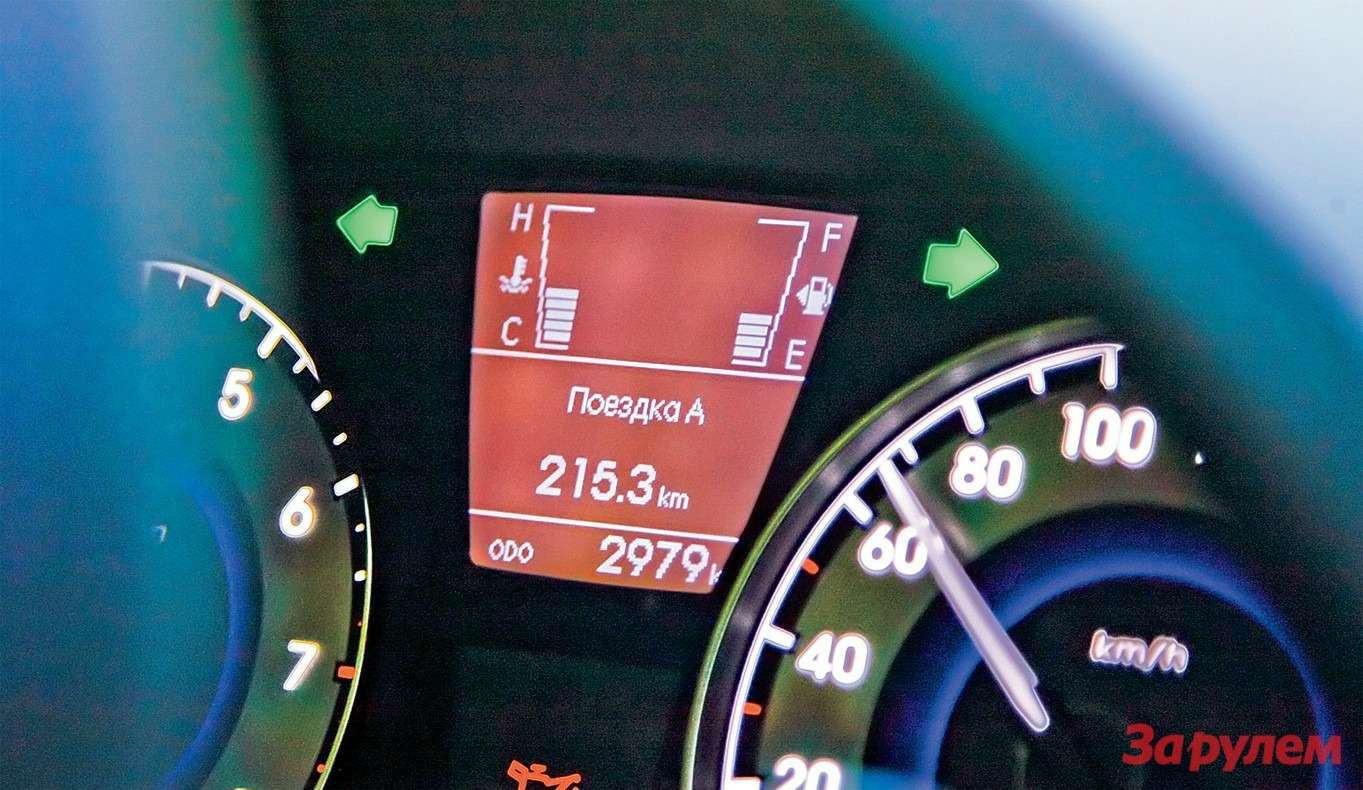 Заглохший натрассе «Солярис» возвращается «нагалстуке». Скоро выяснится: кончился бензин. Аведь индикатор обещал, что топлива еще очень много!