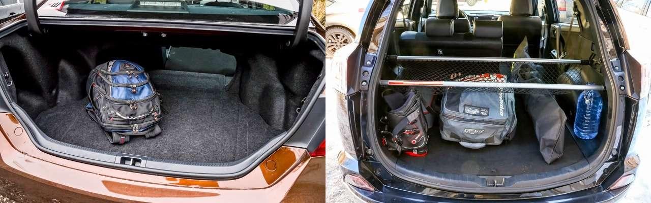 Toyota RAV4или Camry: длядома, длясемьи— фото 845648