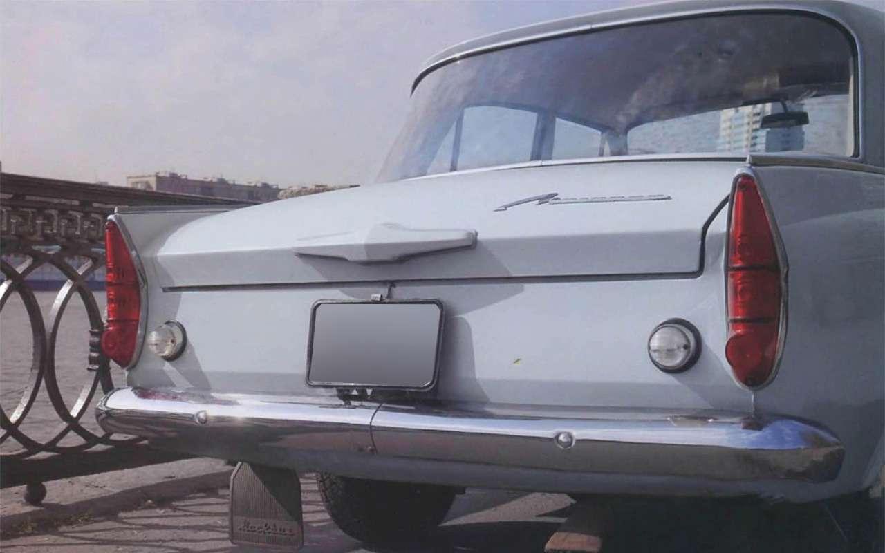 Мойпервый автомобиль— Москвич-408в коме— фото 847329