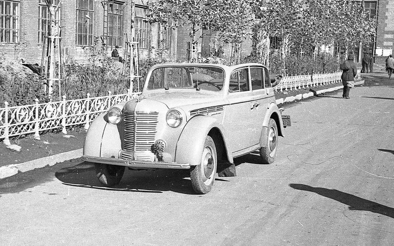 Москвич-400-420А кабриолет