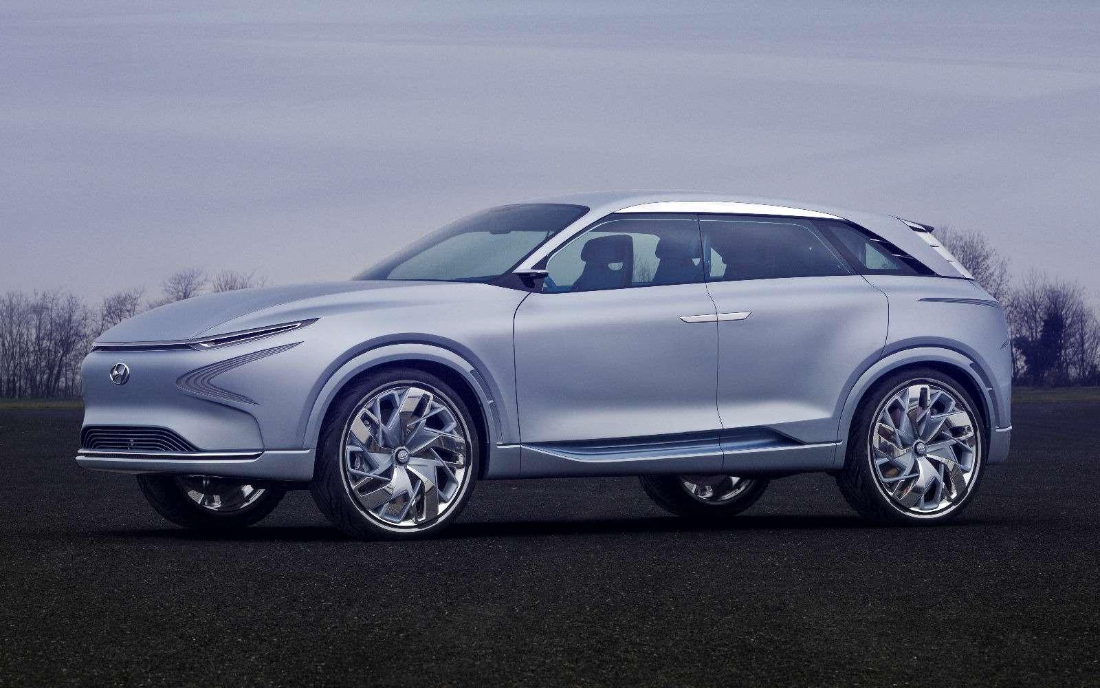 Олимпийский резерв: Hyundai FEFuel Cell станет серийным в2018 году— фото 717597