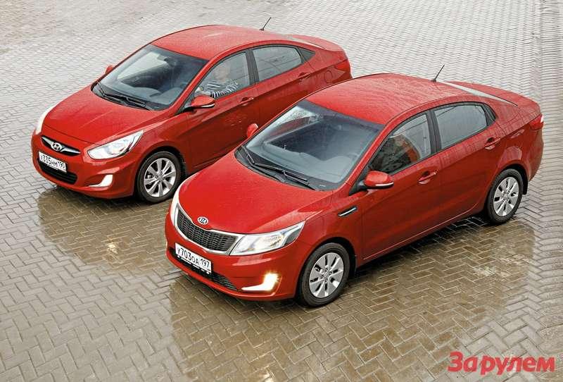 Hyundai Solaris иKia Rio
