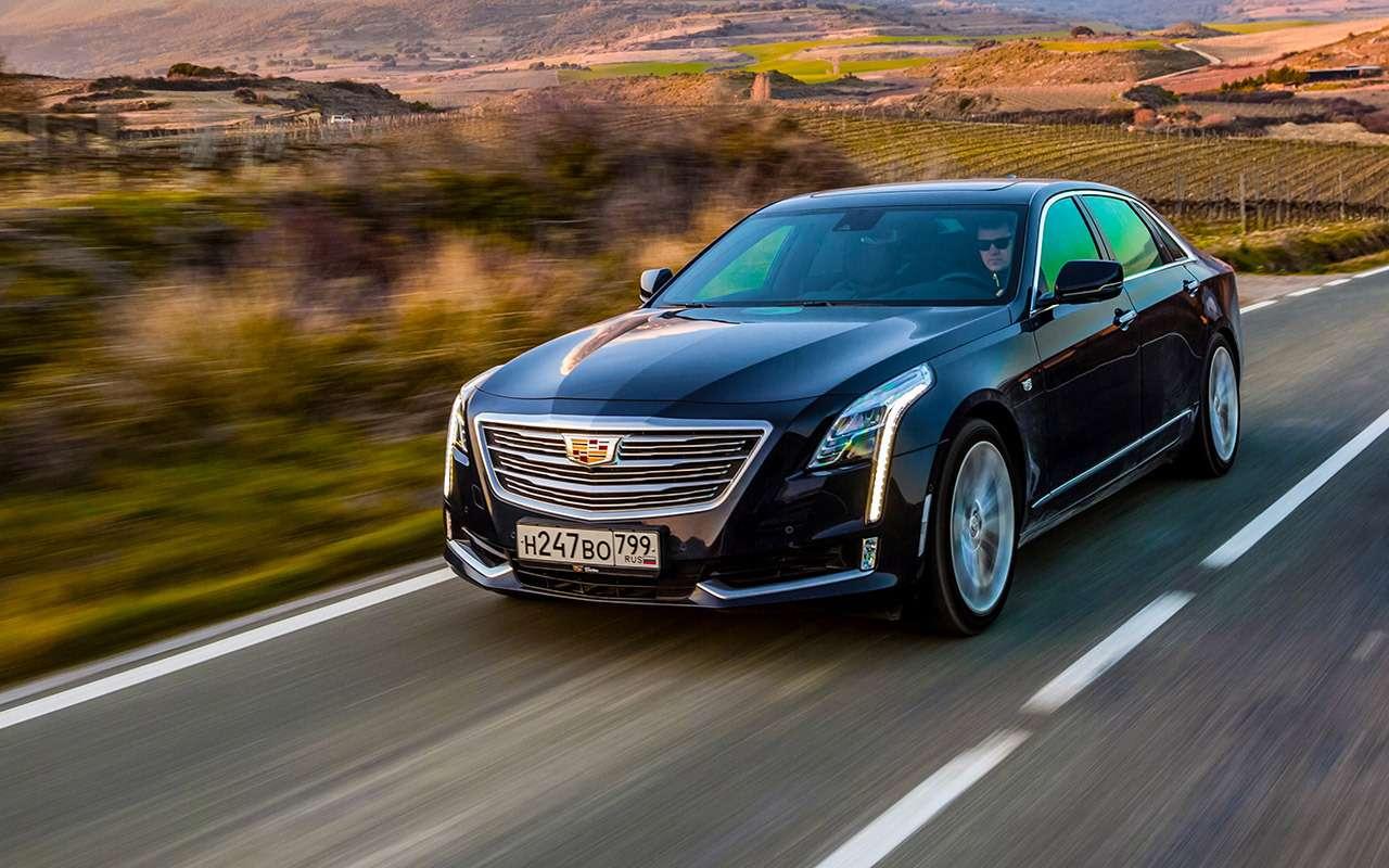 Cadillac CT6: тест-драйв соглядкой наТрампа— фото 867843