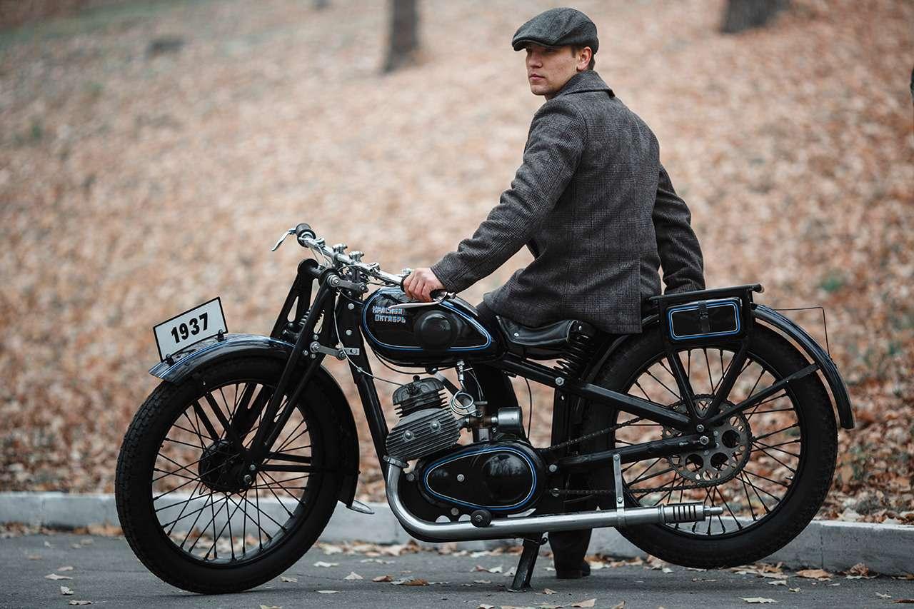 Первый серийный советский мотоцикл: история одной копии— фото 908497