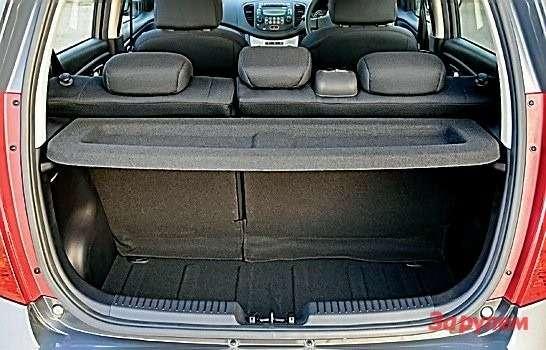Багажник— сносный длятакого малыша.