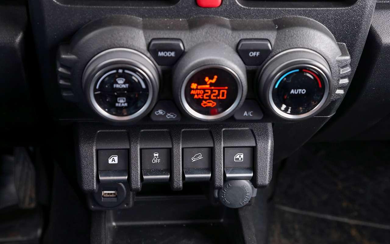 Тест-драйв легенд бездорожья: Lada 4x4, Suzuki Jimny, Jeep Wrangler— фото 1089423