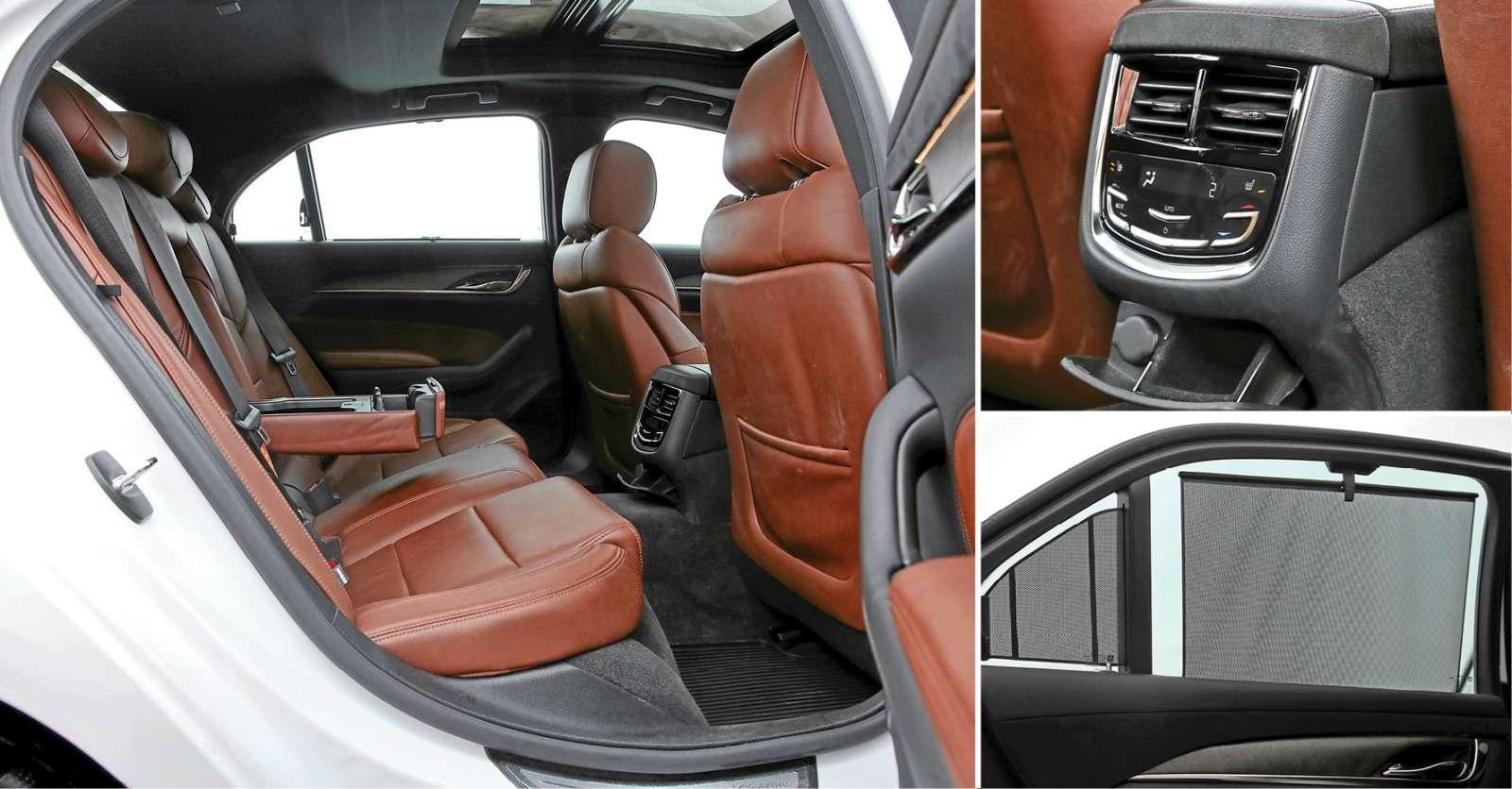 Схватка бизнес-седанов: новый Jaguar XFпротив Infiniti Q70и Cadillac CTS— фото 574924