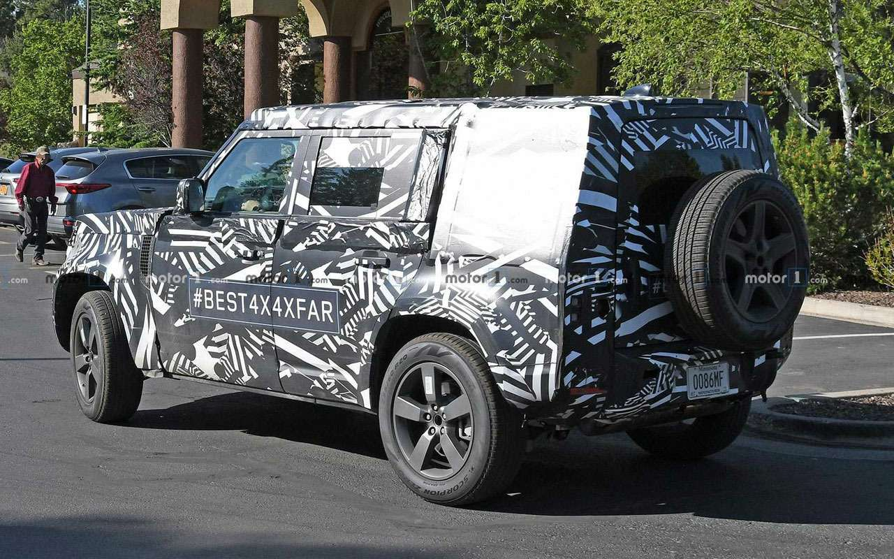 Первое фото: Land Rover Defender раскрыл себя сам— фото 982374