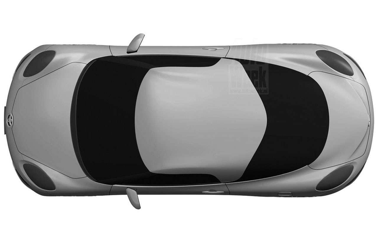 Toyota патентует новый спорткар— фото 965715