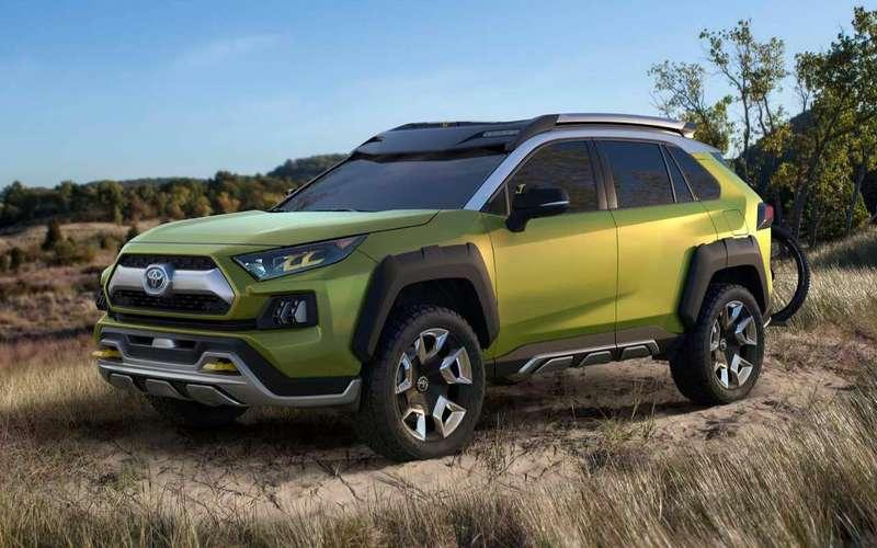 Тойота готовит кроссовер который займет позицию между RAV4 иC-HR
