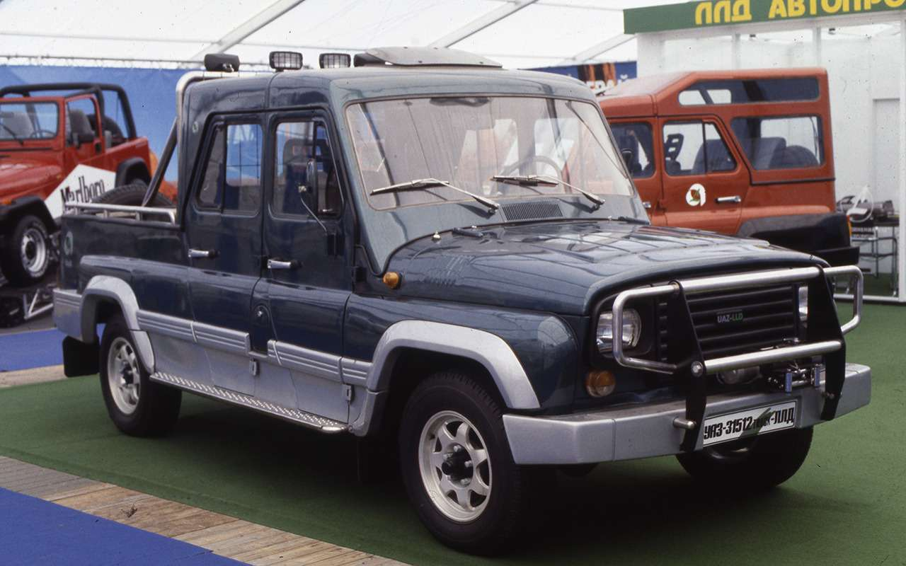 «Козлик» УАЗ-469— таких модификаций выточно не видели!— фото 978725