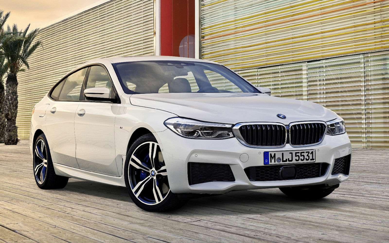 Новый лифтбек BMW 6-й серии Gran Turismo— лучше, чем «сарай»!— фото 764545